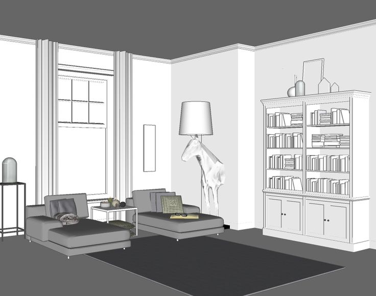Boekenkast - Inndoors Meubelen en Interieur