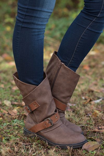 Perfect height for skinny jeans! Love these.