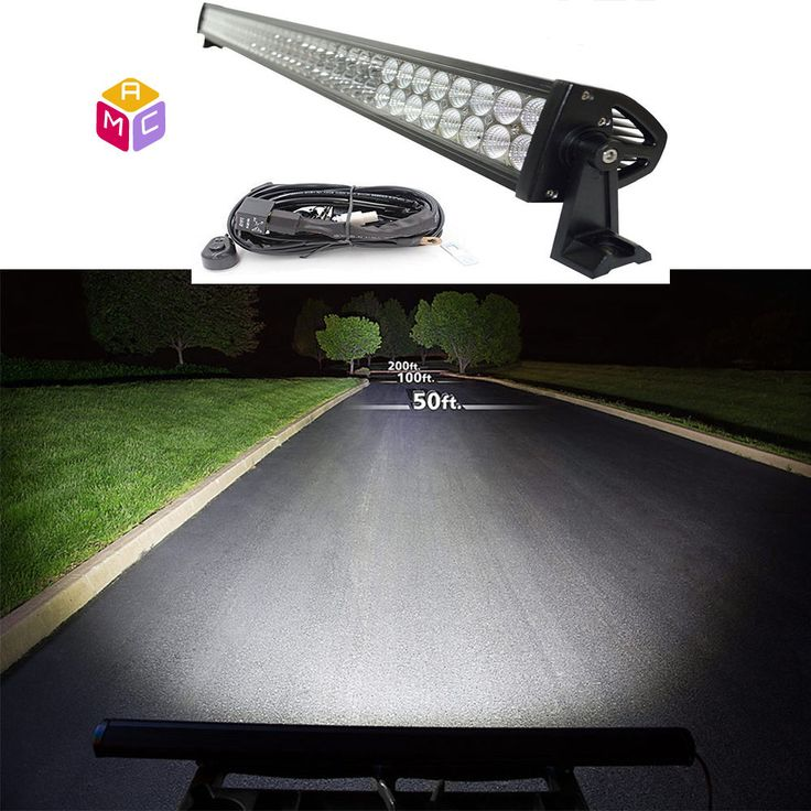 "240 w Led Light Bar 40"" Heavy Equipment Tractor Lawn forklift Dozer Excavator JD #MAC"