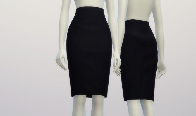 Basic pencil skirt at Rusty Nail via Sims 4 Updates
