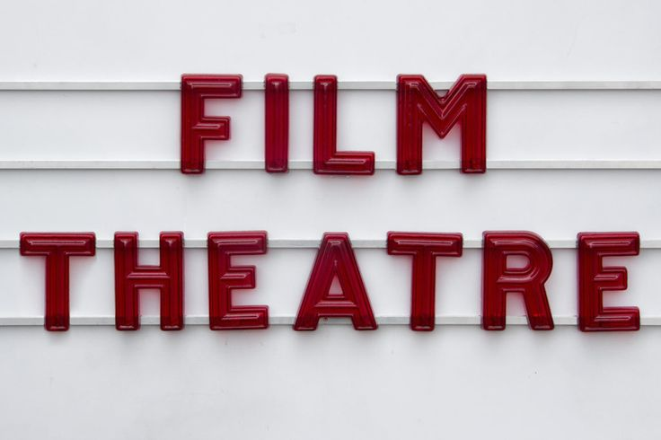 Vintage Cinema Marquee Letters by London Sign Maker's Goodwin & Goodwin. For more Info... http://www.goodwinandgoodwin.com/products/red-movie-theatre-marquee-letters