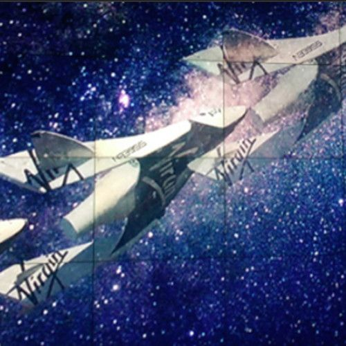 Richard Branson möchte mit seiner neuen Weltraumairline auch Flugverbindungen rund um den Globus anbieten.