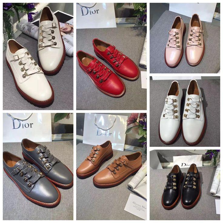 Dior Derby Shoe in Calfskin Leather 2018 Size: 35-40 Derby shoe in calfskin