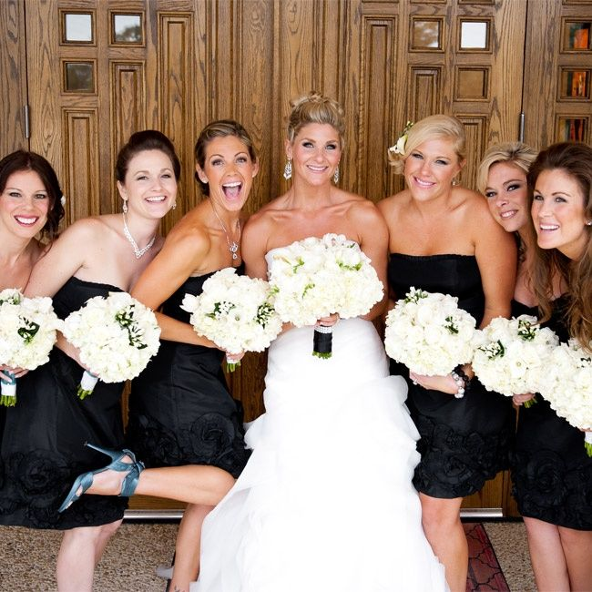 Cheap Wedding Dresses Mn: 17 Best Images About Black And White Weddings On Pinterest