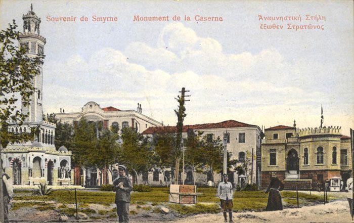 ✿ ❤ Smyrne clock tower of Konak - İzmir