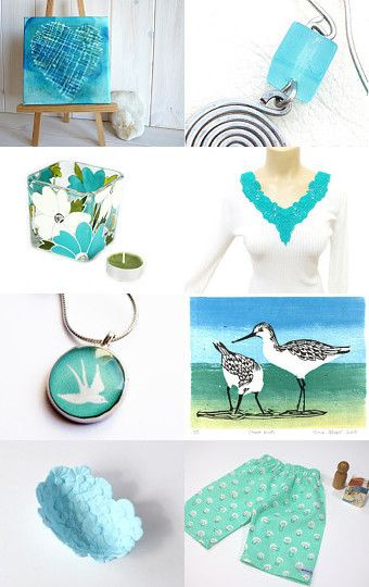 Turquoise by Christiane Schnabel on Etsy--Pinned with TreasuryPin.com