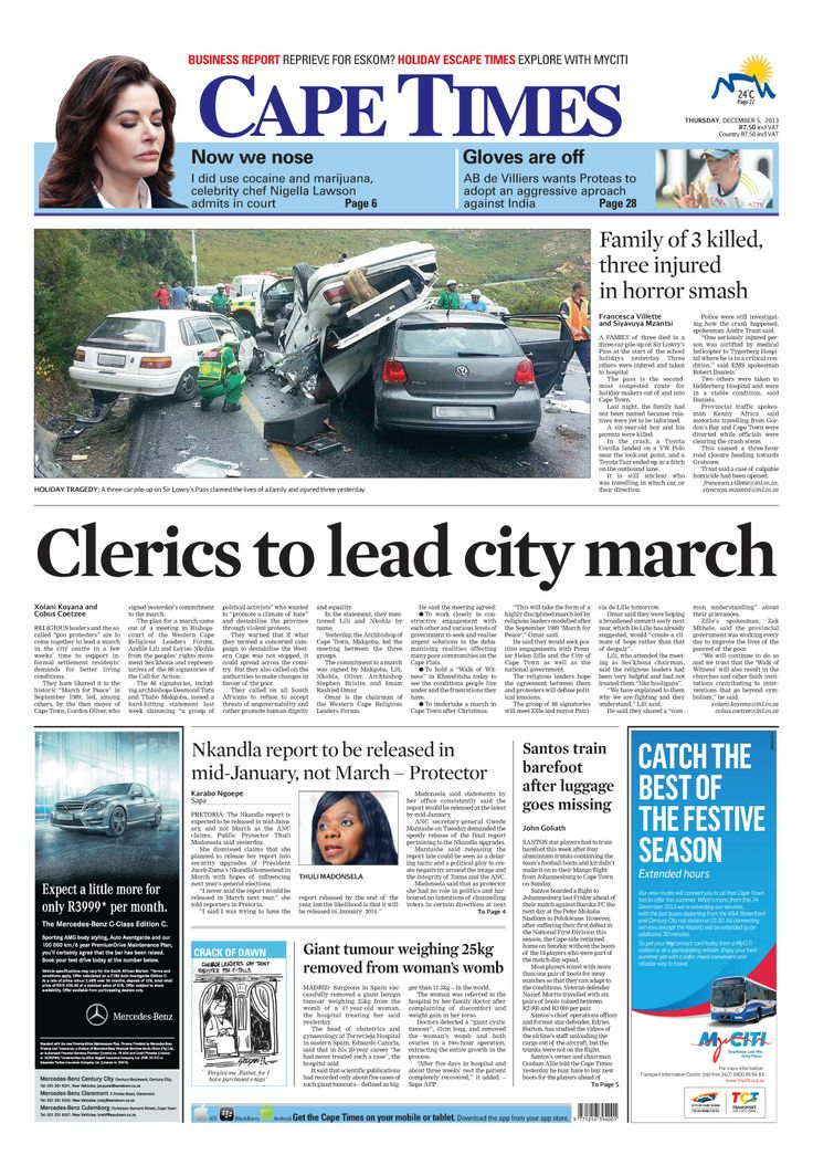 News making headlines: Clerics to lead city march