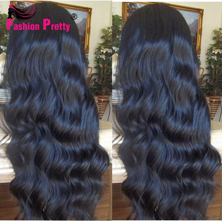 Front Lace Wigs Body Wave Full Lace Human Hair Wigs For Black Women Indian Virgin Hair Wig Glueless Lace Front Human Hair Wigs *** Ini pin AliExpress affiliate.  Klik gambar untuk mengetahui lebih lanjut