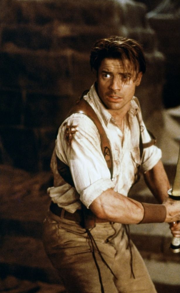 Young Brendan Fraser The Mummy The Mummy (1999) | The...