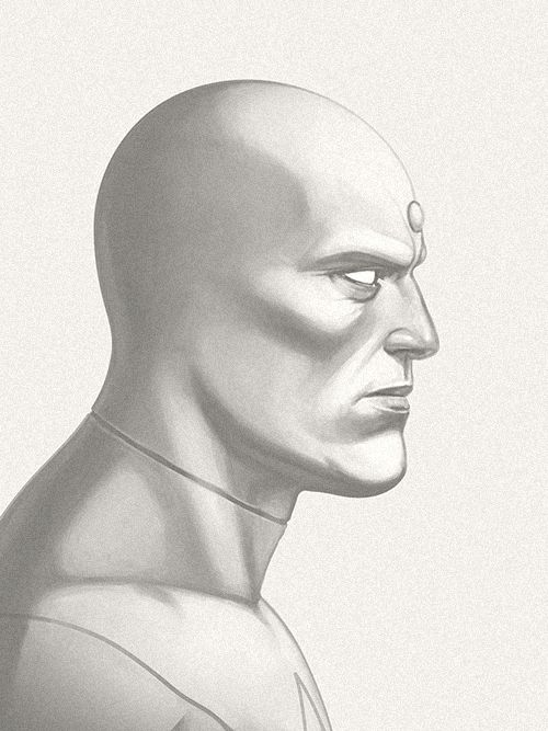 Silver Surfer - Character Design Illustrations by Guy McKinley