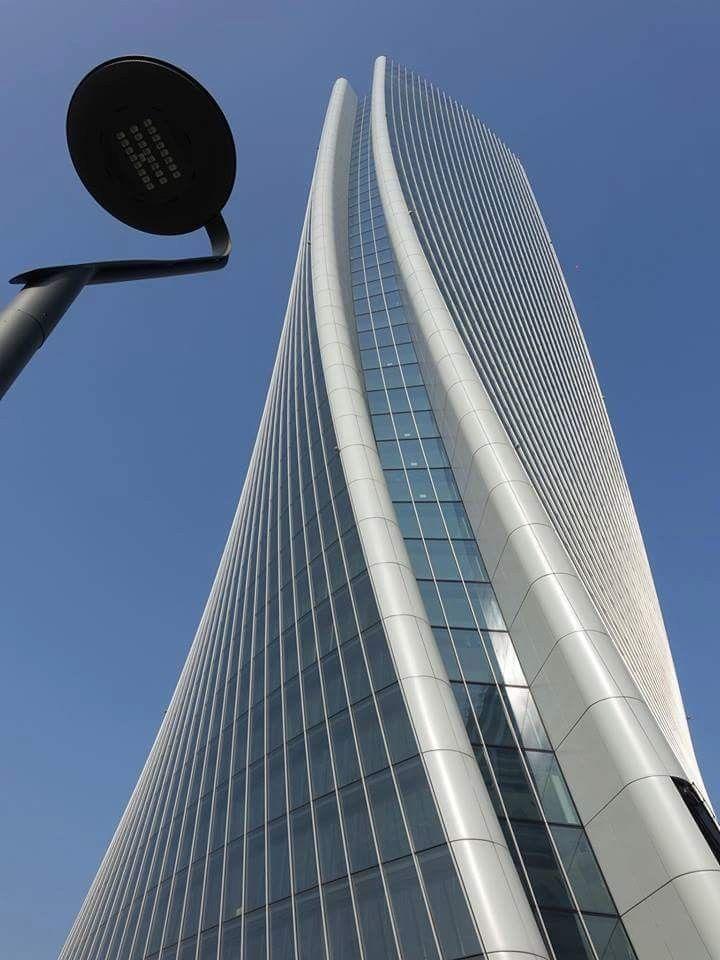 M♥ Zaha Hadid, City Life, Tre Torri, Milano