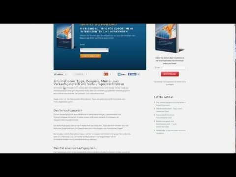 Verkaufsgespräch richtig führen -  Downloads dazu http://www.youtube.com/watch?v=xaflcYgNxTQ=youtu.be
