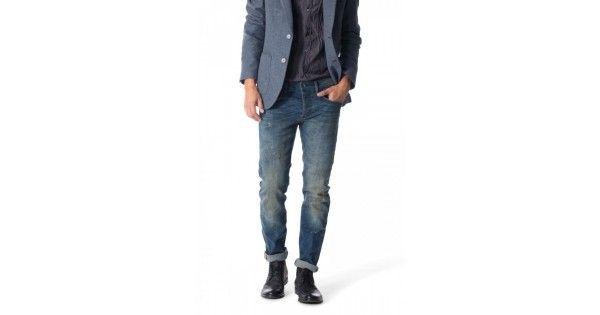Παντελόνι με κουμπιά σε slim γραμμή Gas Jeans. Σύνθεση 99% cotton 1% elastan.