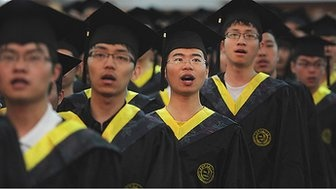 End of empire for Western universities? / Sean Coughlan | @BBCNews | By the end of this decade, four out of every 10 of the world's young graduates are going to come from just two countries - China and India | #university