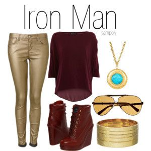 Avengers Inspired Everyday Outfits   Iron Man, Captain America, Doctor Who and many many more.   sampoly.polyvore.com