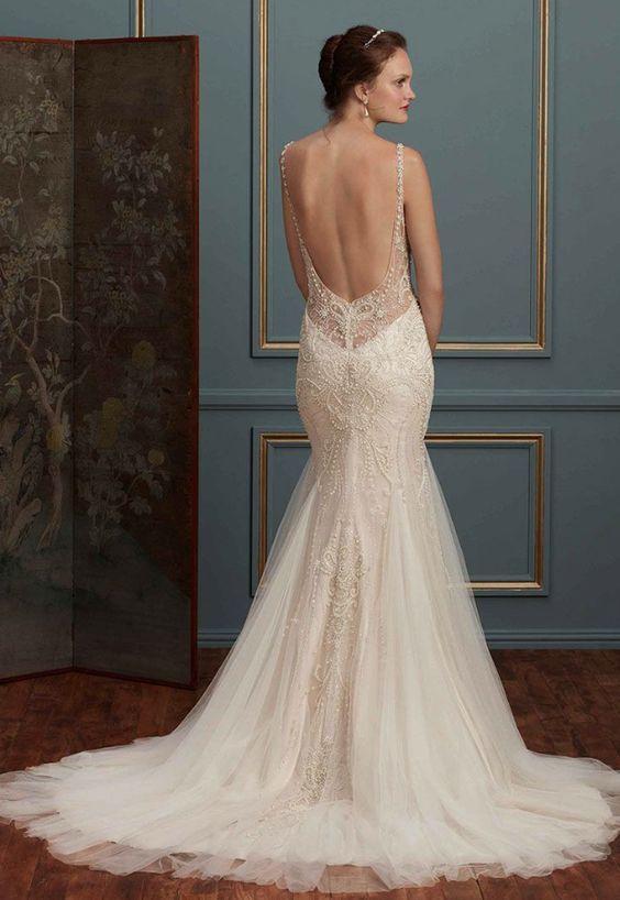 Featured Dress: Amaré Couture Bridal; Wedding dress idea.