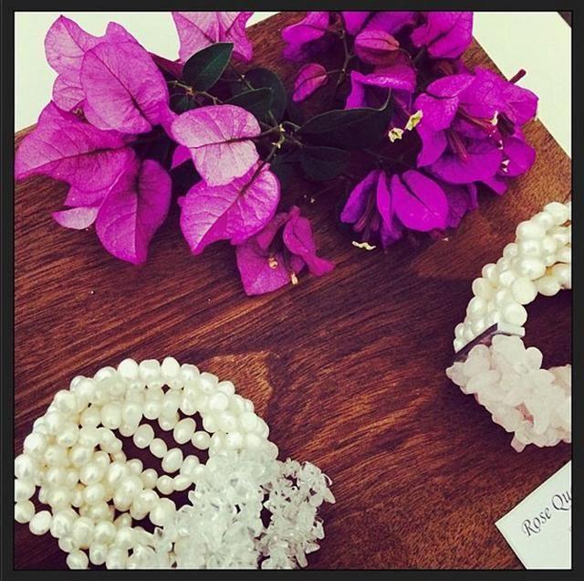 rooi rose Instagram - Pearl bracelet | Pêrel-armband #Pearls #bracelet #accessories #jewelry
