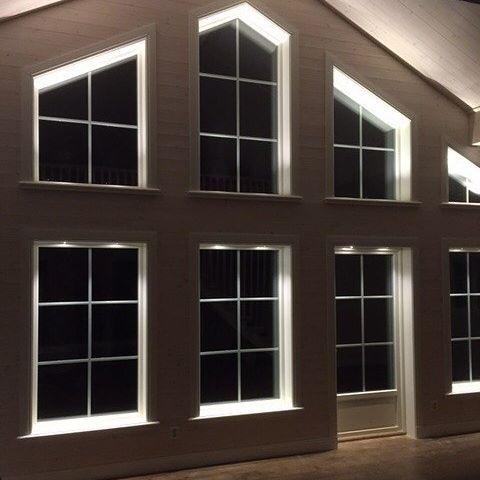 Bildresultat för belysning fönstersmyg