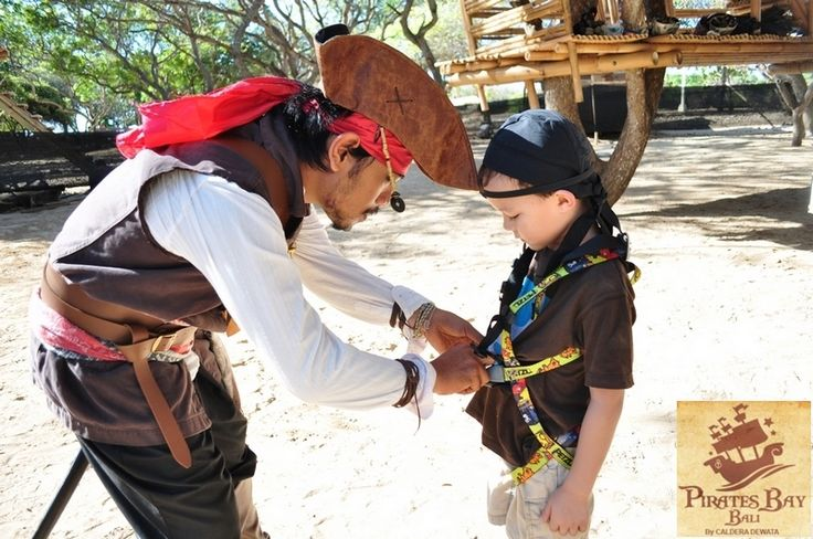 Little Pirates : BOOTY HUNT #Lunch #Dinner #Activity - The Pirates Bay Nusa Dua Bali l Indonesia