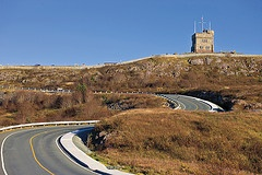 Road to Signal Hill National Historic Site