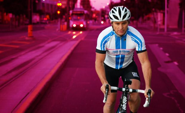 Shane Crawford and Tour de Crawf - raising funds for Breast Cancer Network of Australia. Riding from Melbourne to Perth. An amazing man and a cause very close to my heart.