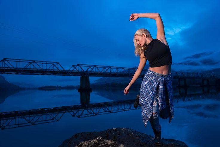 Møt Juliane Bay- danseren fra Sør-Fron  #Dancer #Blue