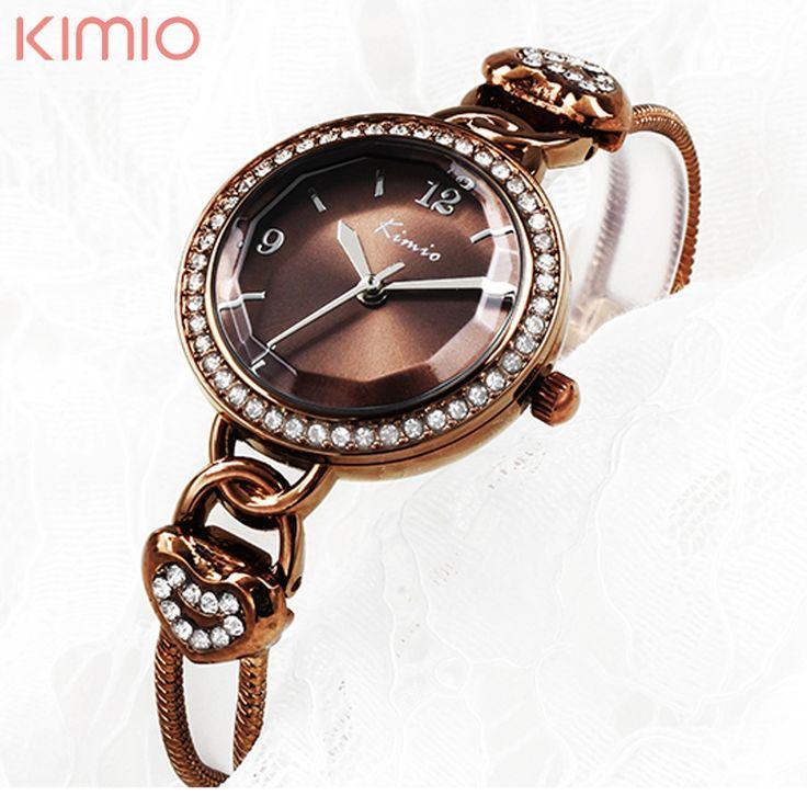 19.99$  Buy here - http://ali80e.shopchina.info/go.php?t=32730542716 - Fashion 2016 New Double Chain Gold Kimio Watches Women Luxury Famous Brand Reloj Mujer Marca De Lujo Famosas Hodinky Women 19.99$ #bestbuy