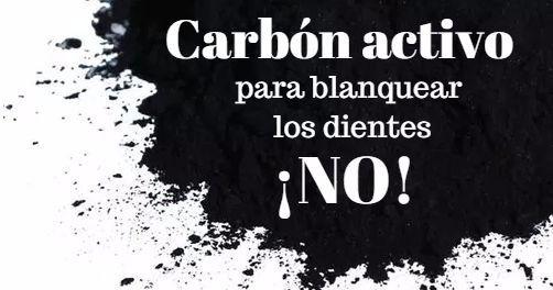 """¿Blanquear los #dientes con #carbónactivo? Mucho cuidado con los """"productos milagro naturales"""". #dentista http://blgs.co/RILxjb"""