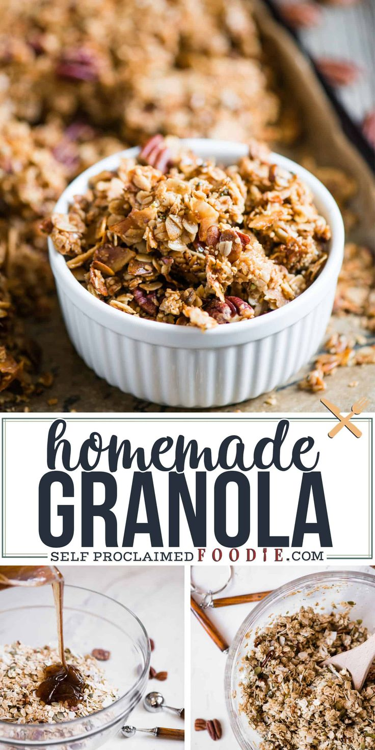 Homemade granola is such an easy treat to make at home. The combination of whole…