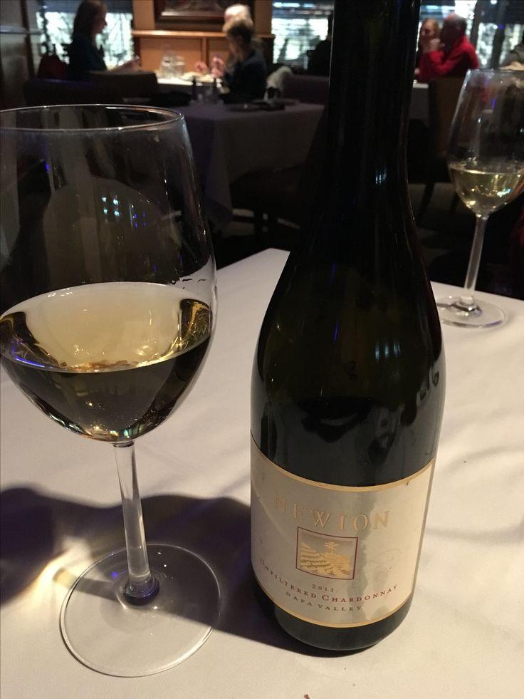 This just happened..... Enjoying 2011 Newton Unfiltered Chardonnay