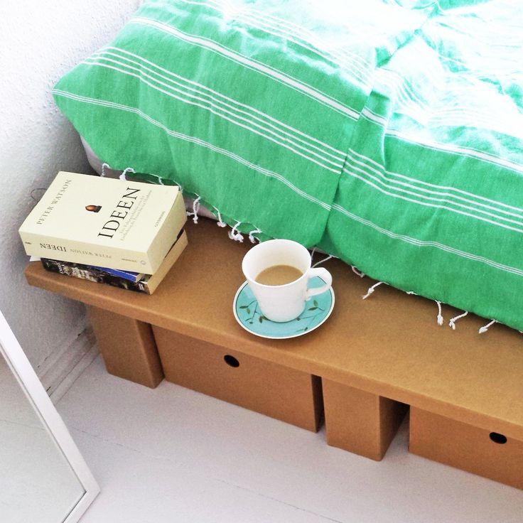 ber ideen zu karton m bel auf pinterest basteln mit karton. Black Bedroom Furniture Sets. Home Design Ideas