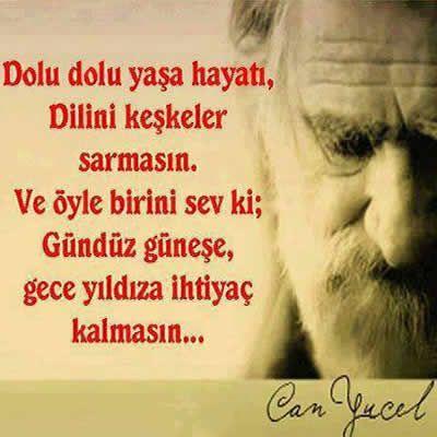 Can Yücel'den...