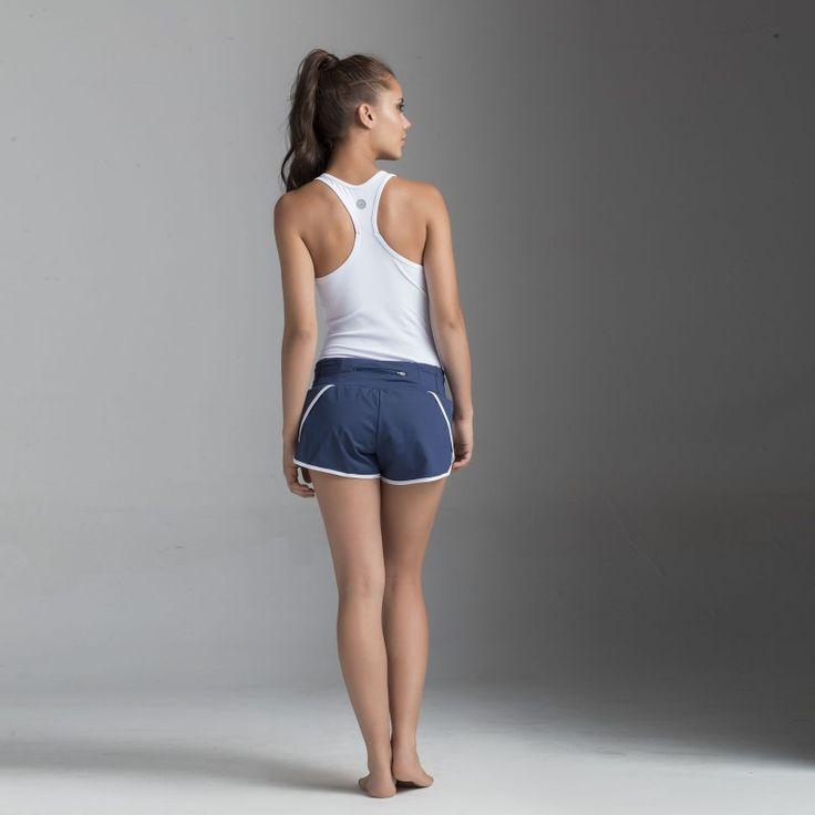 Top-manga-sisa T-Joppa + Shorts S-Gath de Bakkuk, un look ideal para correr…