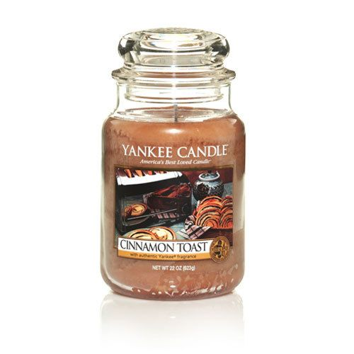 """Yankee Candle """"Cinnamon Toast"""" I can only imagine how amazing this would smell!"""
