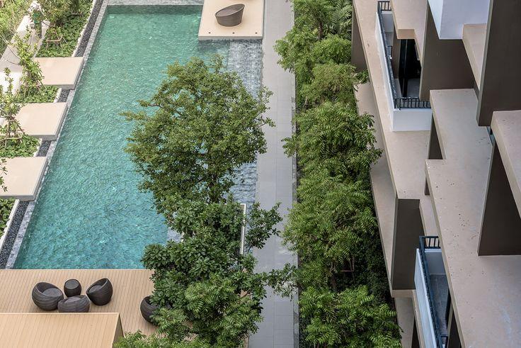 Project type: ResidentialArchtects: Tectonix Landscape Ltd.Client: Norm Marque DevelopmentLocation: Phutthabucha 48, Khwaeng Bang Mot, Khet Thung Khru, Krung Thep Maha Nakhon 10140Project Year: 2016Photographs: Poompat Waratkiachthana