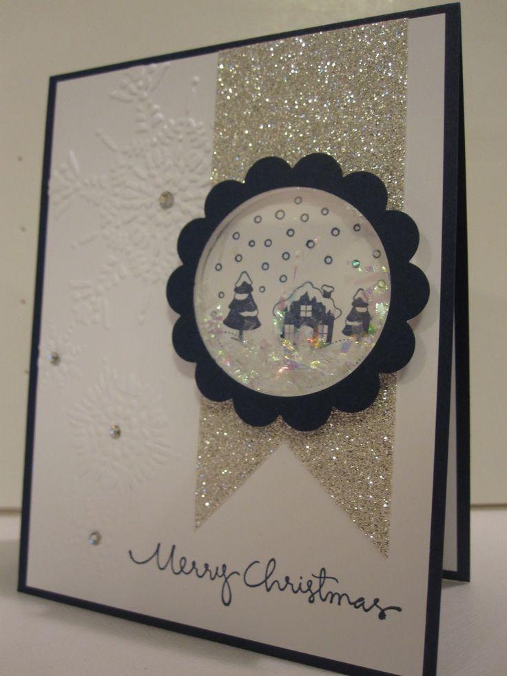 Новогодняя открытка шейкер своими руками для детей
