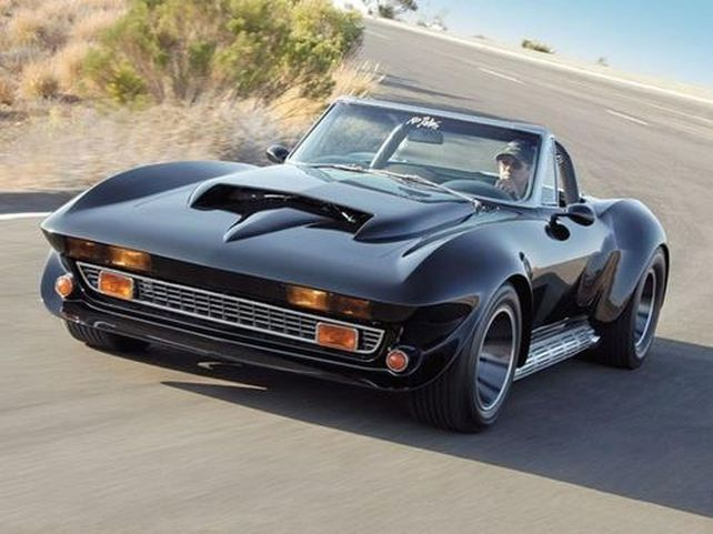 Corvette Stingray Custom Muscle Cars 25