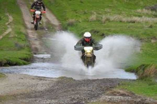 Trail riding with AW Motorcycles