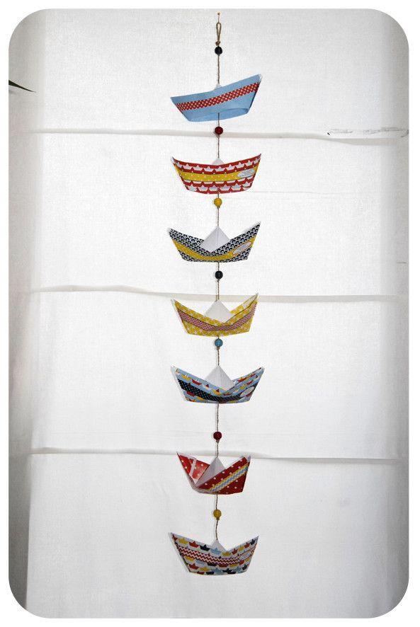 pliage bateau en papier paper boat 7                                                                                                                                                                                 Plus