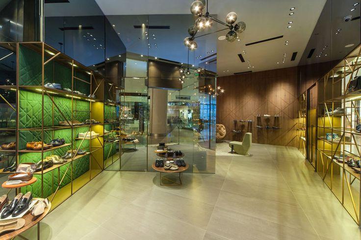 Manila East Wing Shangri-La Plaza Mandaluyong City - Manila #Santoni #SantoniShoes #Manila #Luxury #boutique