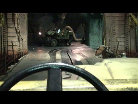 Indiana Jones Adventure Lights On! Full Ride (Night Vision HD POV) Disneyland California - YouTube