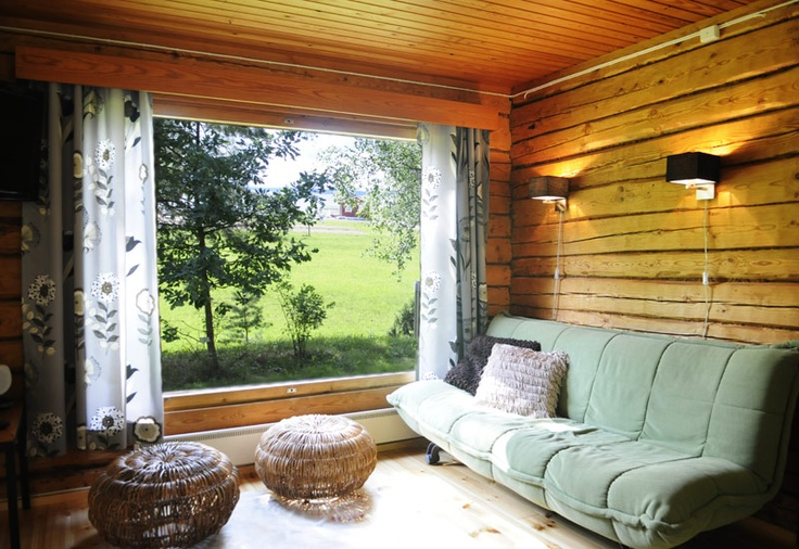 Staying in cottage Eerikki is almost like living in a jungle. Or what do you think ?  #accommodation #atmosphere #cottage #jungle #summer #Aurinkoranta