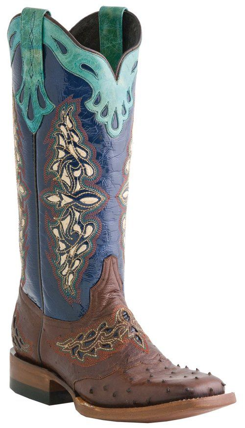 Luxury ARIAT WOMEN39S FULL QUILL OSTRICH 10016708 TOMBSTONE WESTERN BOOTS