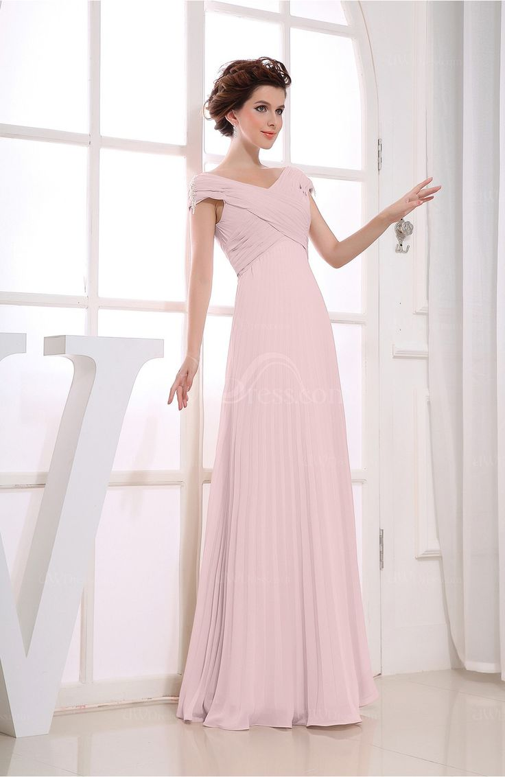 62 best bridesmaid dresses images on pinterest bride dresses blush vintage empire short sleeve zipper chiffon floor length bridesmaid dresses uwdress ombrellifo Gallery
