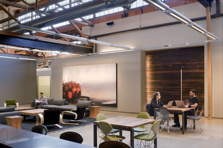 The Steve Jobs Building - Employee office spaces are a sight to be seen. Some work in small house huts, other share space, some stand up.