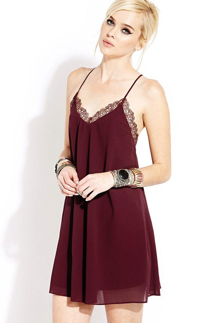 Dainty Swing Dress | FOREVER21 - 2000061051
