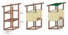 Spielturm Bauzeichnung – Michael – Deutch   – Deutch   Sosyal Penguin