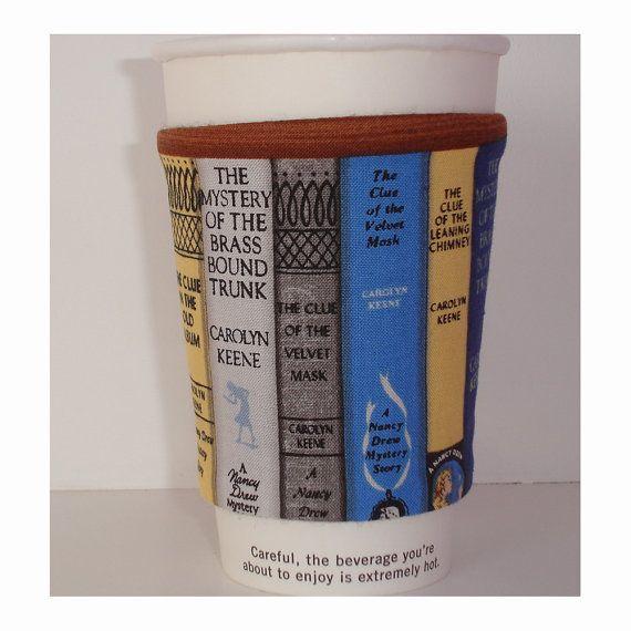 122 best books books books images on pinterest books cozy books cup cozy the nancy drew mysteries book shelf bookshelf mystery tea coffee mug cosy sleeve fandeluxe Images
