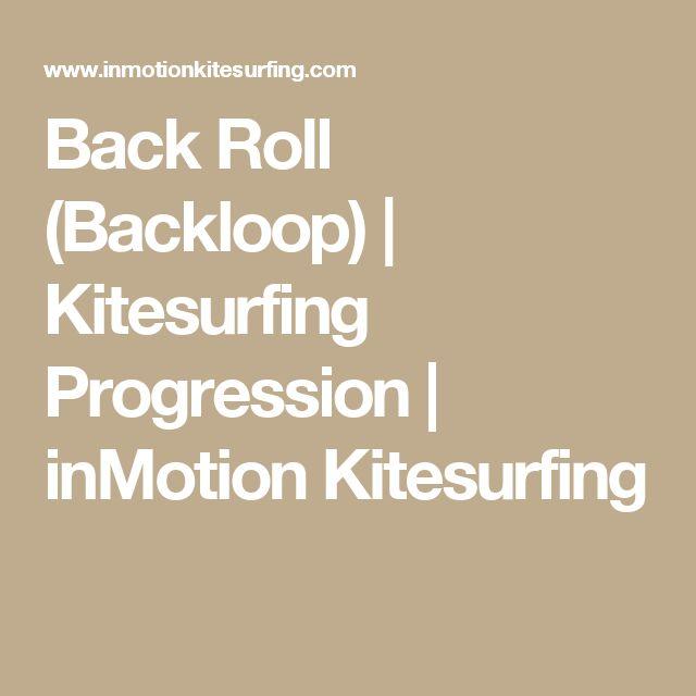 Back Roll (Backloop)   Kitesurfing Progression   inMotion Kitesurfing