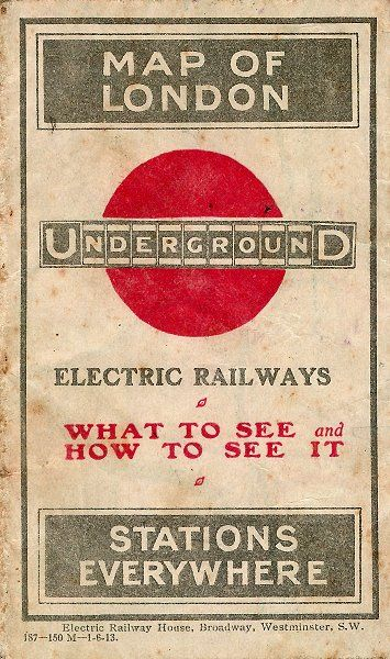 1913 London: Transgressing the UndergrounD map